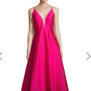 Aidan Mattox taffeta fuchsia gown- Brand New!